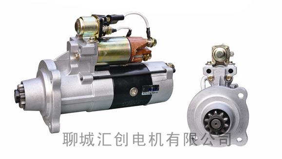 同时能够在发动机起动后自动脱开;起动机电路的通断则由一个电磁开关
